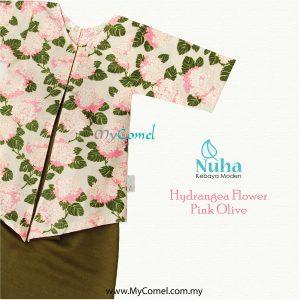 1. Hydrangea Pink Olive