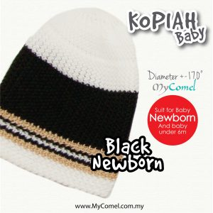 5. KOPIAH Black NEWBORN
