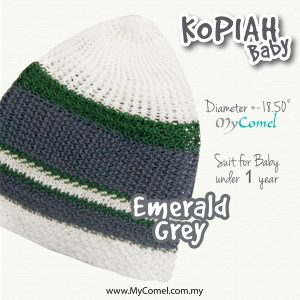 8. KOPIAH Emerald Grey