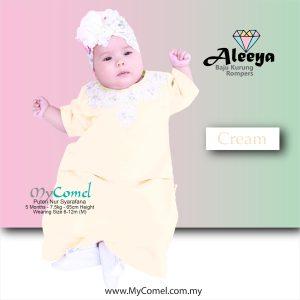 Rompers Baju Kurung – Cream