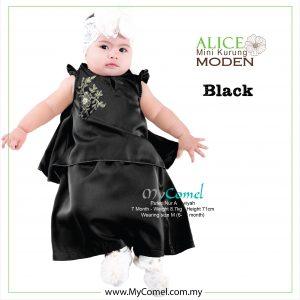 Mini Kurung Alice – Black