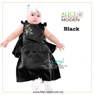 Mini Kurung Alice – Black