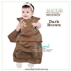 Mini Kurung Alice – Dark Brown