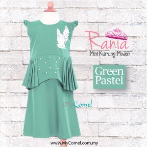 Rania – Green Pastel