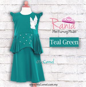 Rania – Teal Green