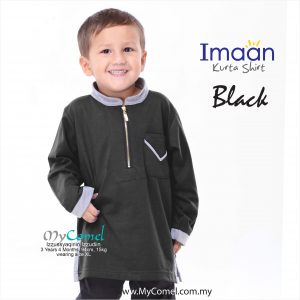 Kurta Kids – Black