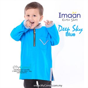 Kurta Kids – Deep Sky Blue