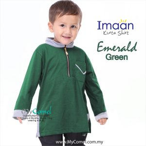 Kurta Kids – Emerald Green