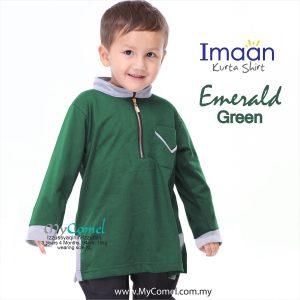 Kurta Kids – Emerald Green