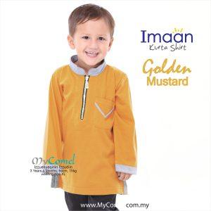 Kurta Kids – Golden Mustard