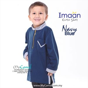 Kurta Kids – Navy Blue