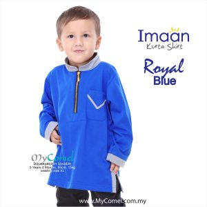 Kurta Kids – Royal Blue