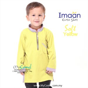 Kurta Kids – Soft Yellow