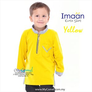 Kurta Kids – Yellow