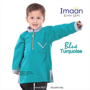 Kurta Kids – Blue Turquoise