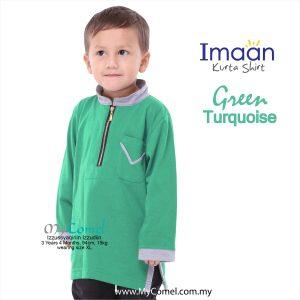 Kurta Kids – Green Turquoise