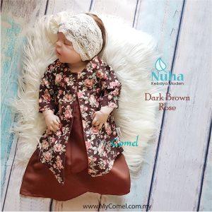 1. Dark Brown Rose