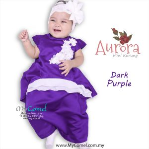 Mini Kurung Aurora – Dark Purple