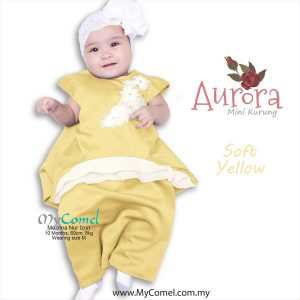 0886d99dbaf0 AURORA Mini Kurung – Soft Yellow