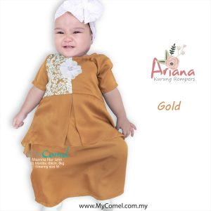 bd2d97984267 ARIANA Mini Kurung Rompers – Gold