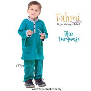 Baju Melayu Tshirt – BABY BLUE