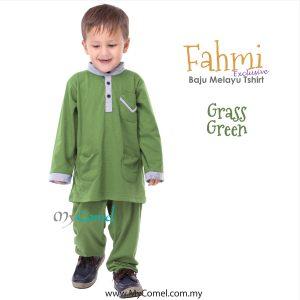 Baju Melayu Tshirt – APPLE GREEN