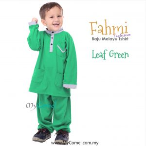 Baju Melayu Tshirt – LEAF GREEN