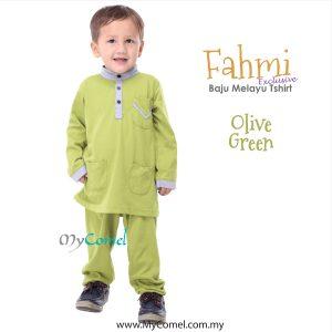 Baju Melayu Tshirt – GREEN TURQUOISE