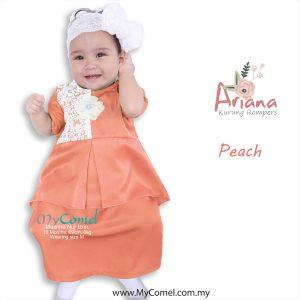 Kurung Rompers ARIANA – Peach-01